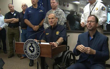 Texas Gov. Greg Abbott gives update on Harvey response