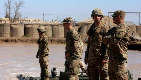 Iraq US troops drawdown reported by AP after military declares ISIS     Iraq US troops drawdown reported by AP after military declares ISIS beaten    CBS News