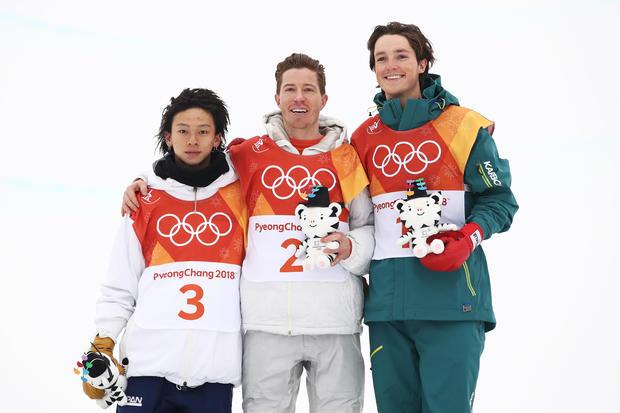 shaun white -- Snowboard - Winter Olympics Day 5