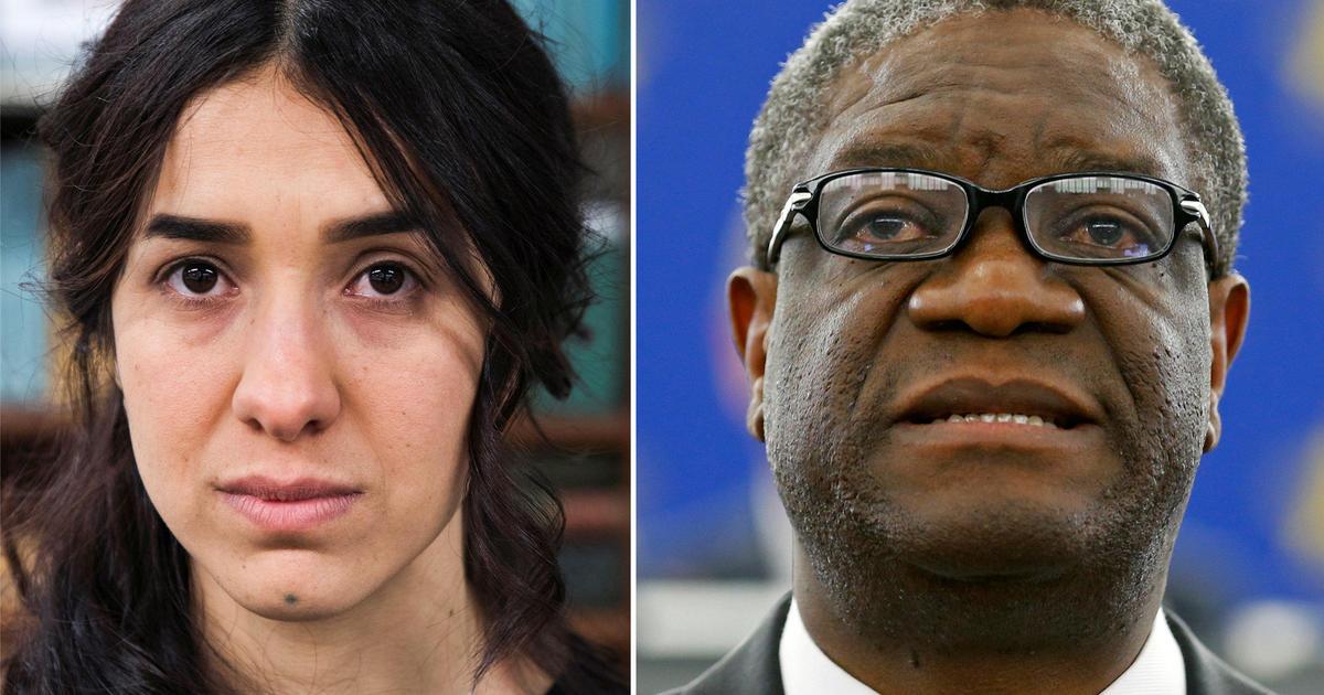 Nobel Peace Prize Winners Denis Mukwege And Nadia Murad