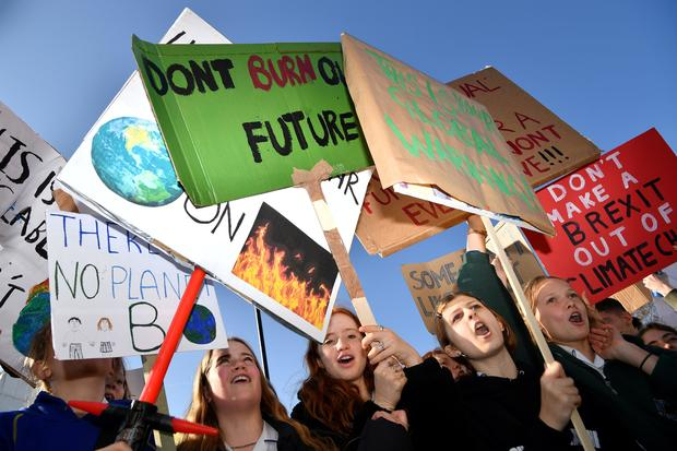 BRITAIN-ENVIRONMENT-CLIMATE-PROTEST