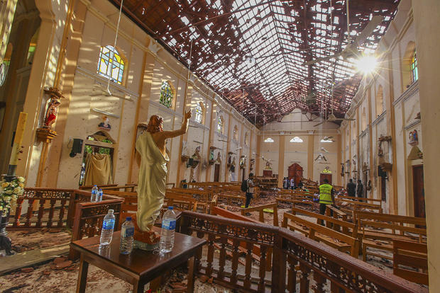 Blasts of the Church of Sri Lanka
