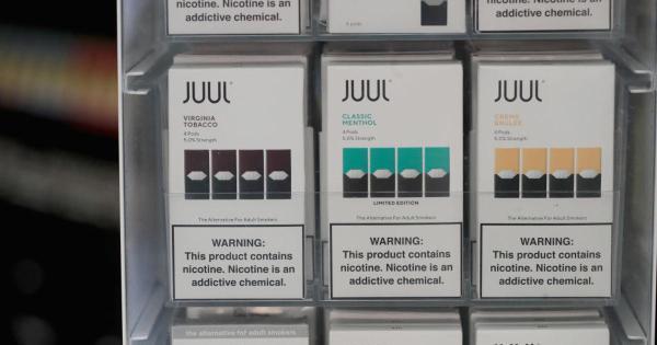 Juul halts sales of fruit and dessert flavors for e-cigarettes