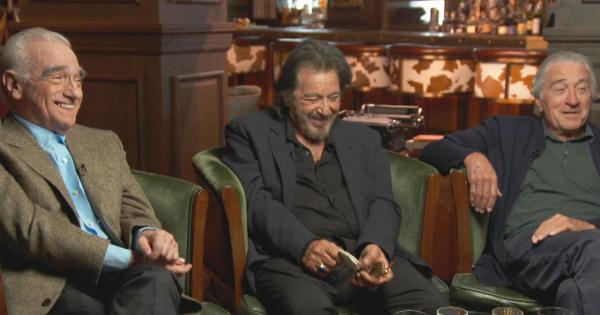 "Martin Scorsese, Al Pacino and Robert De Niro on ""The Irishman"""