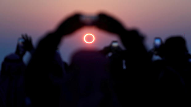 """Breathtaking photos of the """"Ring of Fire"""" solar eclipse"""