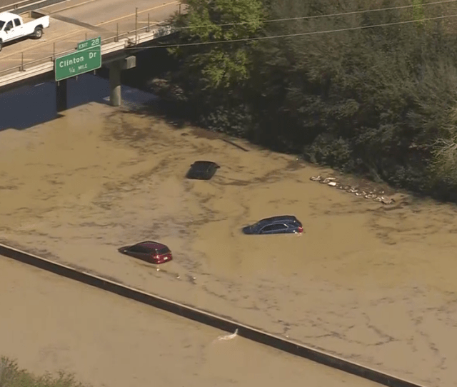 Dramatic Rescues Unfold After Water Main Break Floods Houston