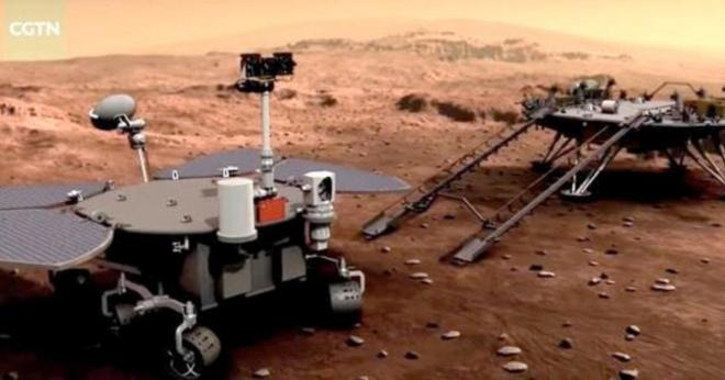 In major milestone, China successfully lands Zhurong rover on Mars - CBS  News