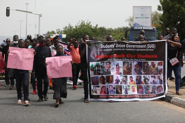 NIGERIA DEMONSTRATION ABDUCTION