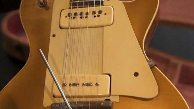 , Les Paul's prototype Gibson Goldtop, up for sale, The Evepost National News