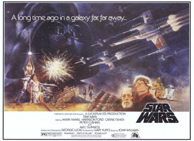 star wars art movie posters of a