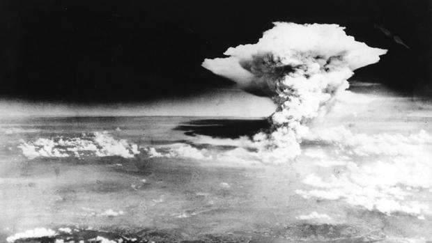 The atomic bombs dropped on Hiroshima and Nagasaki