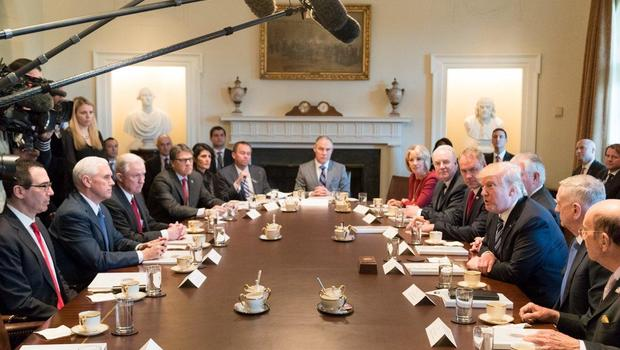 Image result for photos of trump and cabinet members