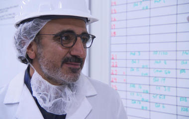 Chobani's chief taster