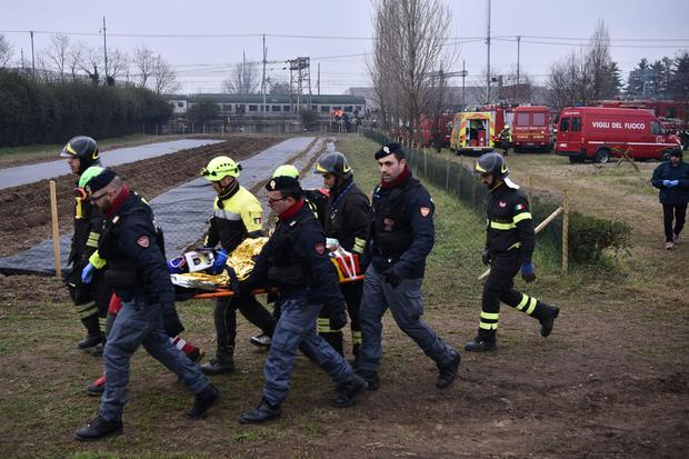 ITALY-ACCIDENT-TRAIN-CRASH