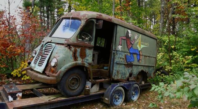 Aerosmith's original tour van