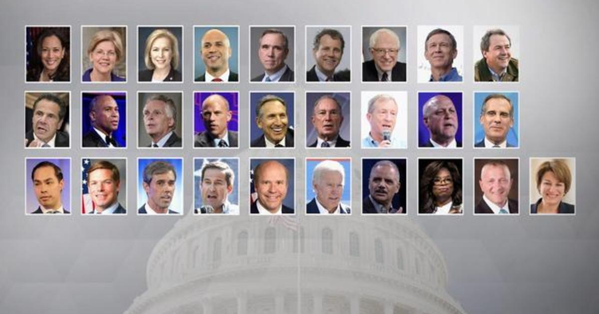 List Of Potential 2020 Presidential Candidates Grows CBS