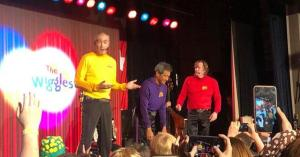 The Wiggles' Greg Page collapses on stage during concert for Australia bushfire relief