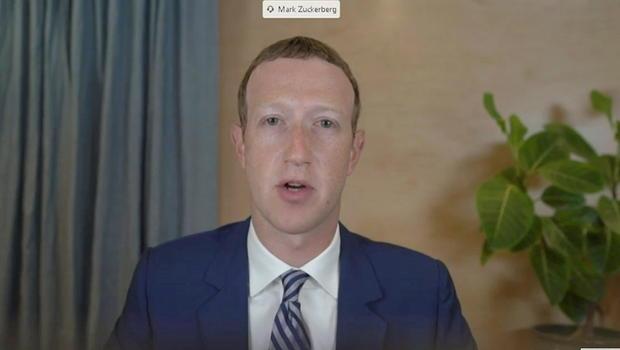 Facebook CEO Mark Zuckerberg testifies before Senate Commerce Committee hearing in Washington