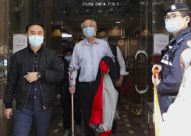 Hong Kong Crackdown