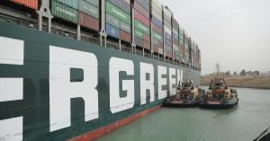 The cargo ship is still trapped in the Suez Canal, but an Egyptian official said he would be released over the weekend.
