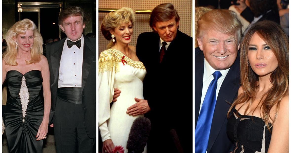 Will Donald Trump be the first president who has been divorced ...
