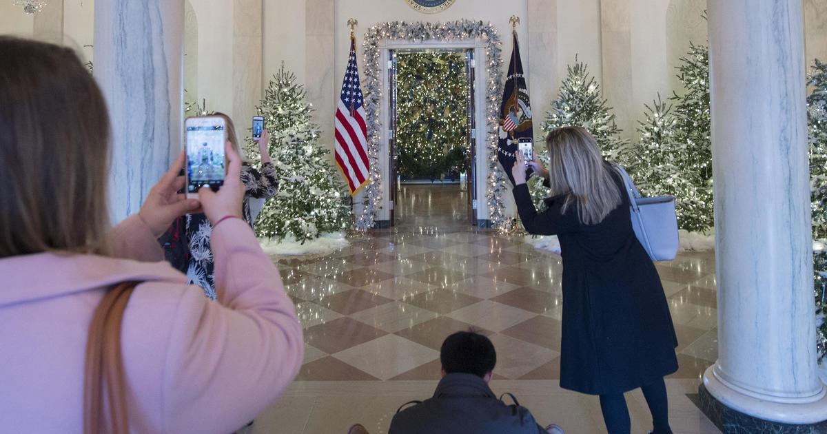 Christmas Decorations White House Christmas 2017