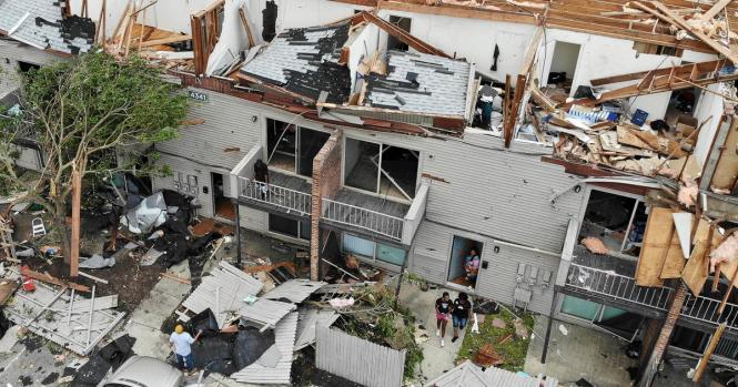 Dayton Ohio Tornadoes Violent