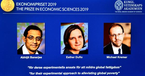 Nobel Prize in economics 2019 goes to Abhijit Banerjee, Esther Duflo and Michael Kremer