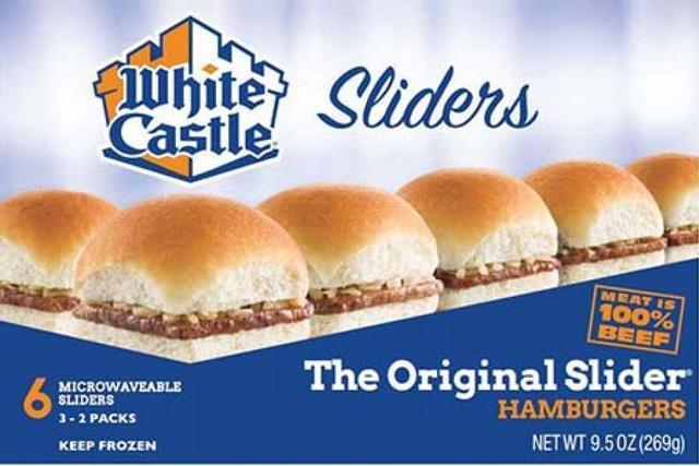white castle burger recall frozen