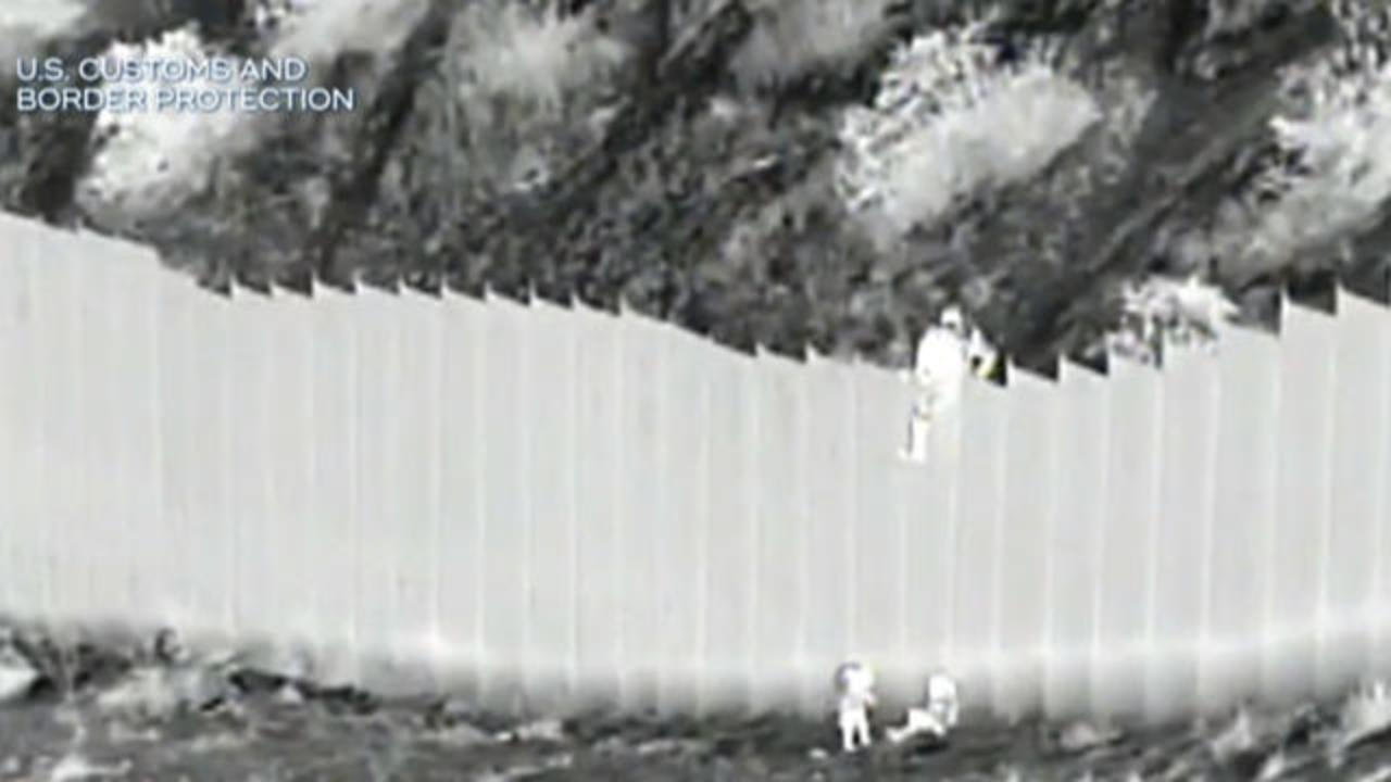 Jaded Opinion: Shocking Border Patrol video of 2 children dropped over wall- THROW THEM BACK !
