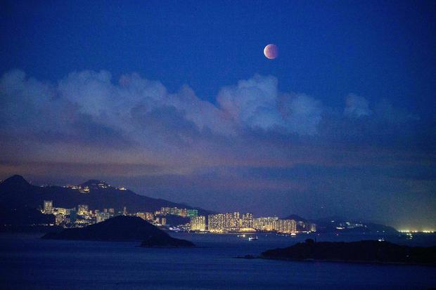 HONGKONG SCIENCE ASTRONOMY MOON ECLIPSE