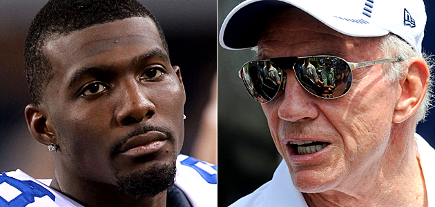 Jerry Jones is not backing down from his tough talk regarding receiver Diamond Dez Bryant - The Boys Are Back blog