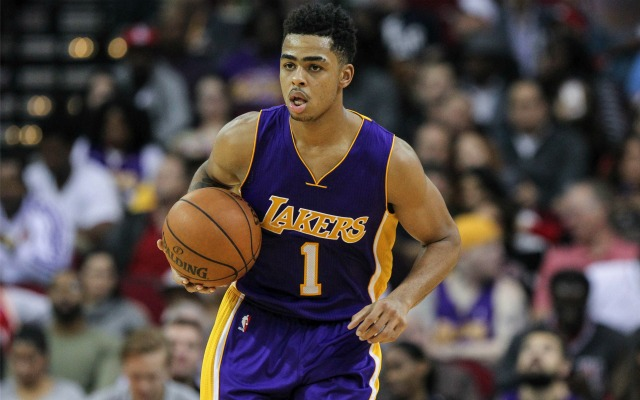 D'Angelo Russell continues to impress for the Lakers.