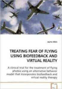 "Dr. Albin is author of ""Treating Fear of Flying Using Biofeedback and Virtual Reality Therapy"""