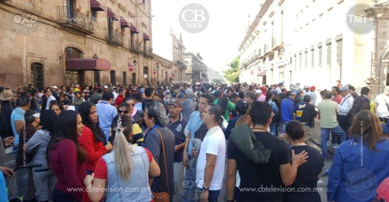 Morelianos hartos de Bloqueos y Manifestaciones