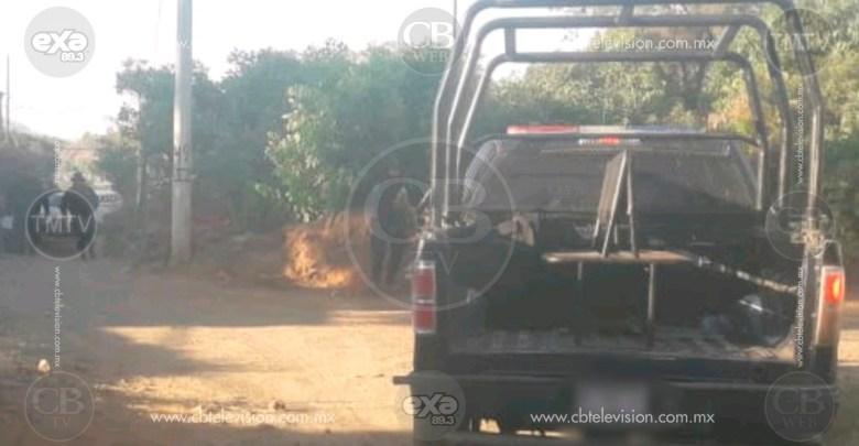 Encuentran cuerpo baleado sobre la carretera Acámbaro-Zinapécuaro