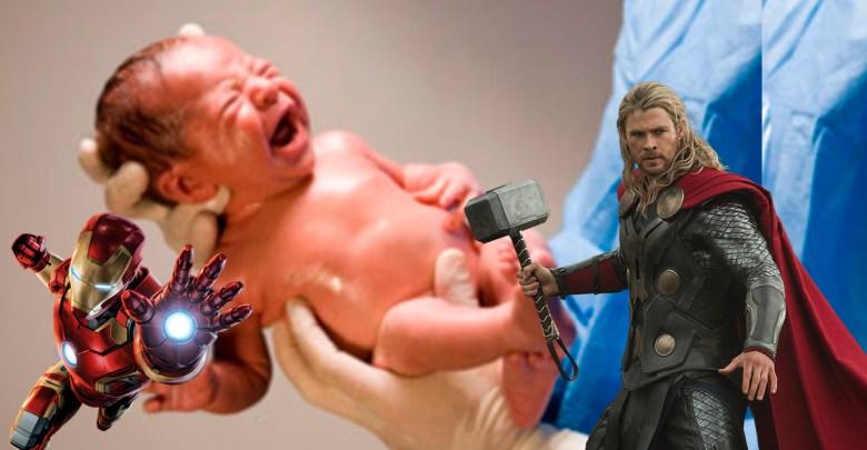 Thor de Jesús, Tony Stark, Britani Marvel, entre los nombres que les han puesto a los recién nacidos