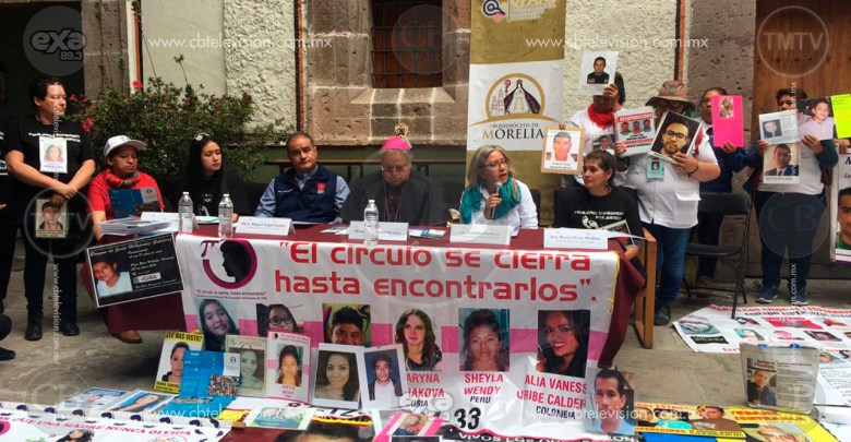 Caravana de Vida llega a Morelia con la esperanza de encontrar a sus familiares desaparecidos