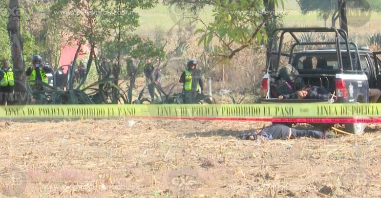 Intento de asalto termina en balacera; tres muertos y tres heridos en Tarímbaro