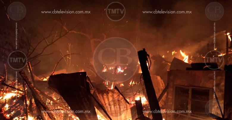 Se incendian 15 viviendas de paracaidistas