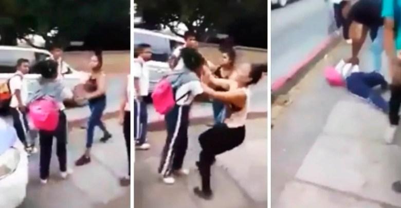 Video: Golpean a estudiante de lasecundaria número 6