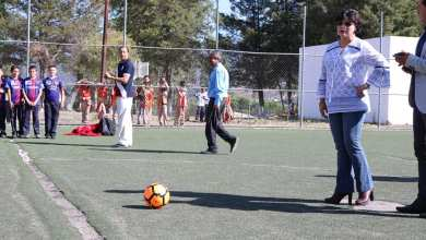 Se lleva a cabo con éxito el torneo de fútbol 7 mixto infantil impulsado por la Dip. Anita Sánchez