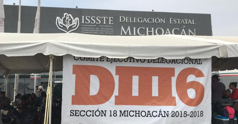 Cumple 8 días la DIII6 en delegación del ISSSTE
