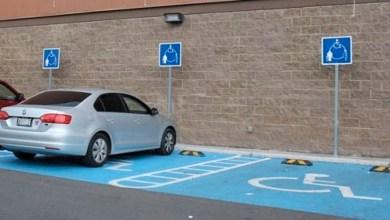 Multas de 17 mil pesos a quien se estacione en lugares para personas con discapacidad