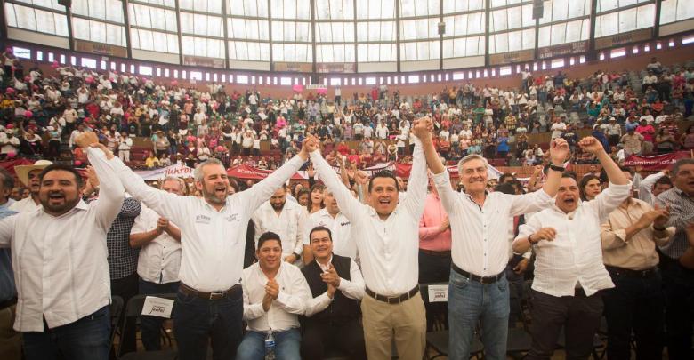 Carlos Torres Piña se separa del PRD y se adhiere a MORENA