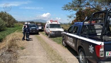 Policía Michoacán localiza ambulancia robada; los heridos no aparecen