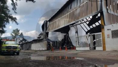 Confinan totalmente incendio en Ciudad Industrial: PCE
