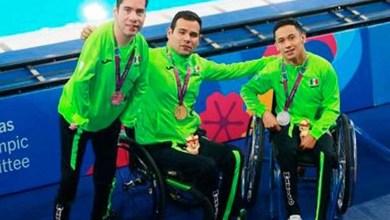 México en tercer lugar del medallero en los Juegos Parapanemericanos