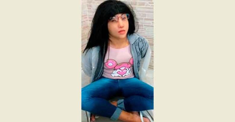 Video: Narco intentó escapar de prisión disfrazándose de mujer