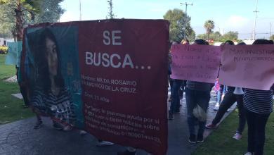 Moradoras de la UMSNH exigen aparición de Nilda Rosario